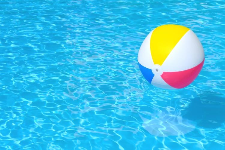 bazén s balonem